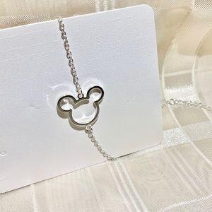Minnie Mouse bracelet silver